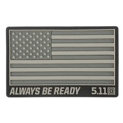 Нашивка 5.11 Tactical USA Patch Double Tap
