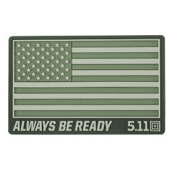 Нашивка 5.11 Tactical USA Patch Olive