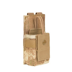 Подсумок для РС (малый) MOLLE SRP (Small/Medium Radio Pouch), AT Camo